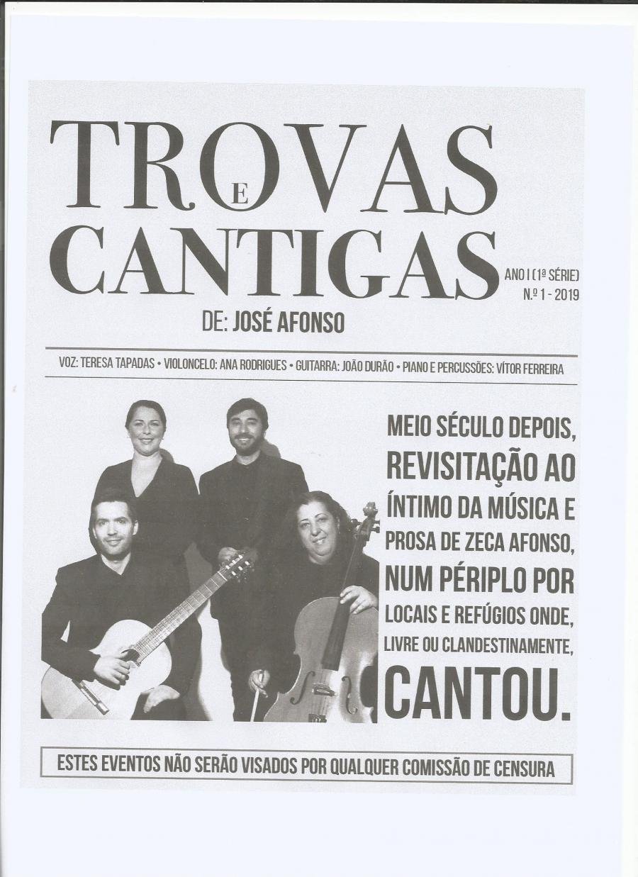 'Trovas e Cantigas de José Afonso'