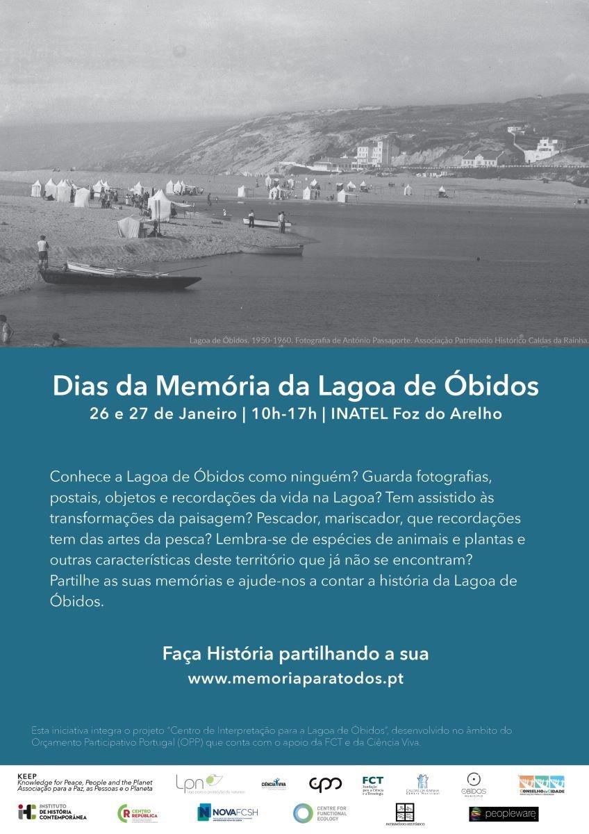 Venha partilhar as suas Memórias sobre a Lagoa de Óbidos