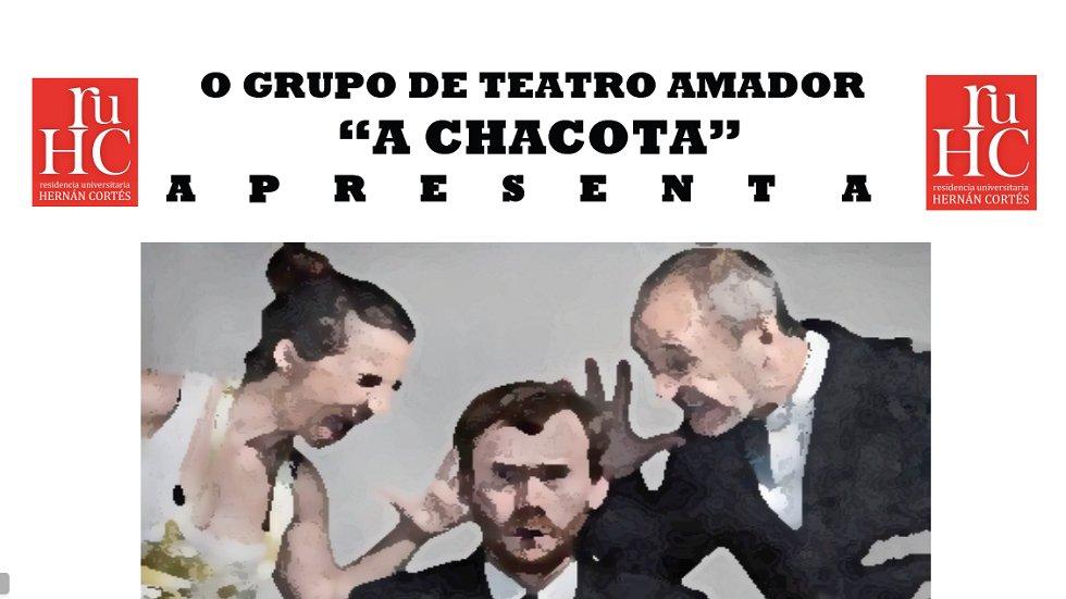 «O pedido de casamento» – Teatro en la RUHC