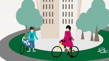 Curso de Iniciação à Bicicleta