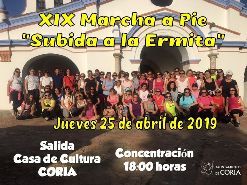 XIX Marcha a pié 'Sudida a la Ermita'