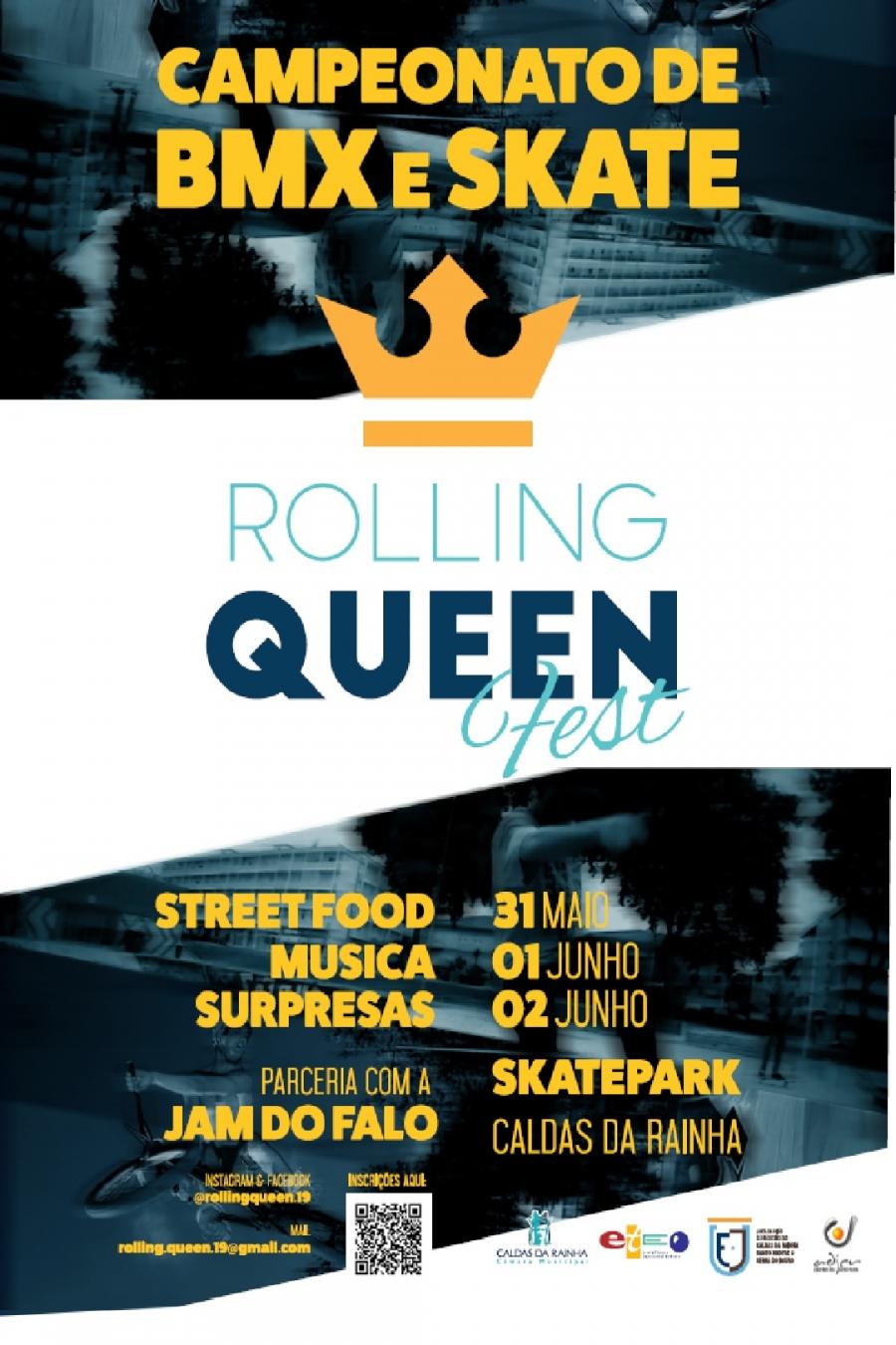 Rolling Queen Fest - Campeonato de BMX e Skate