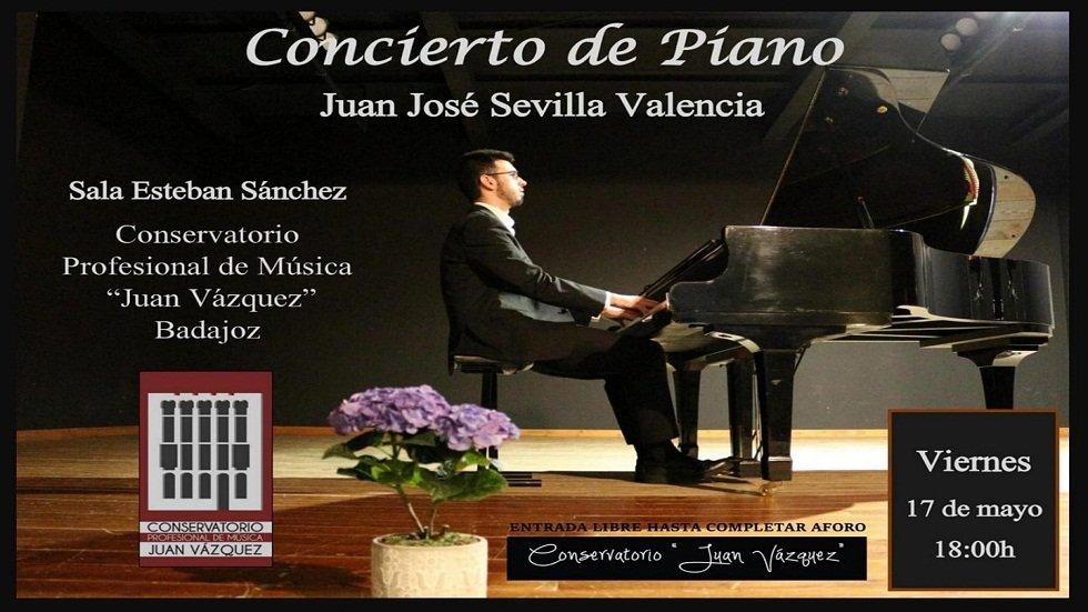 Concierto de piano - Conservatorio Profesional de Música Juan Vázquez