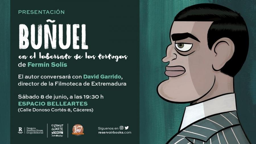 Presentación Novela Gráfica Buñuel en el laberinto de las tortugas. FERMÍN SOLÍS.