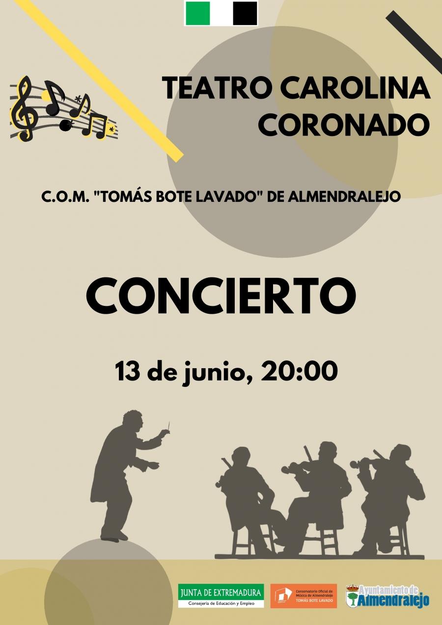 CONCIERTO FINAL DE CURSO DEL CONSERVATORIO