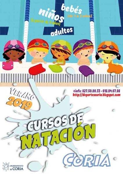 Inscripciones de los Cursos de Natación Verano 2019