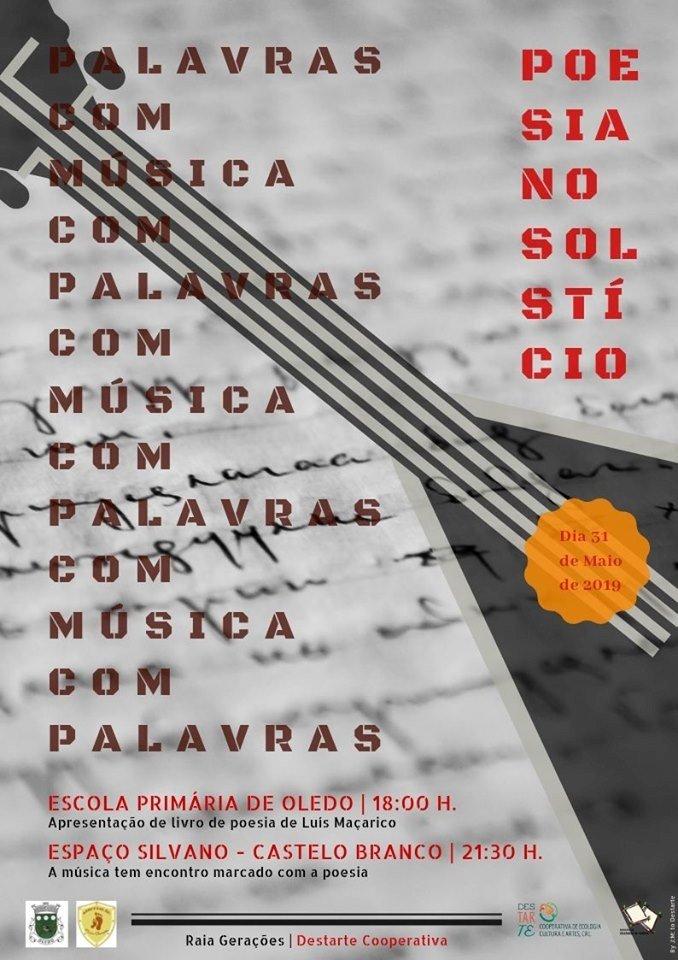 Livro de poesia de Luís Maçarico apresentado em Oledo