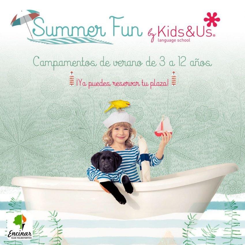 Campamentos de verano Summer Fun by Kids&Us en El Encinar