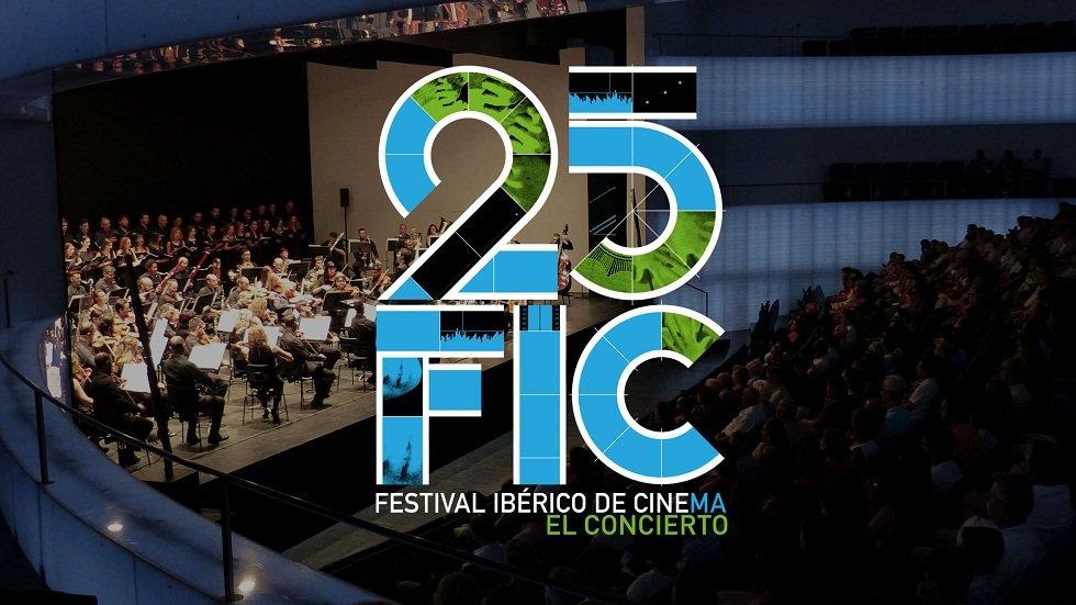 Concierto de la OEX en el 25º Aniversario del Festival Ibérico de Cine