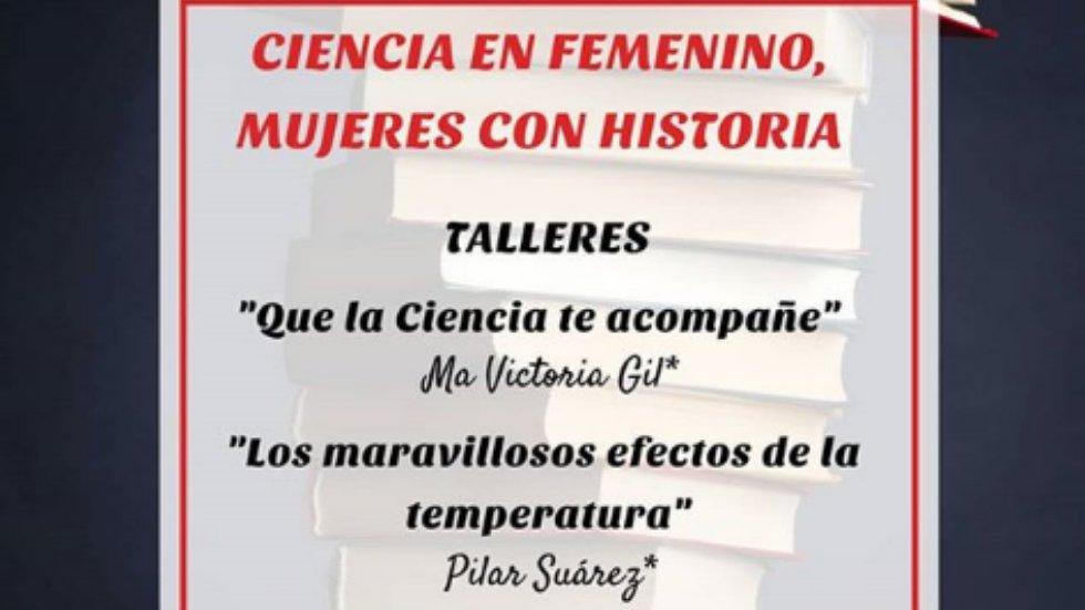 Taller \'Ciencia en femenino, mujeres con historia\'