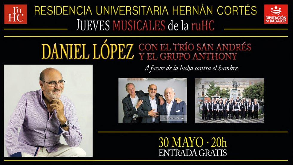 """""""Daniel López, Trío San Andres y Grupo Anthony"""" - Música en la RUHC"""