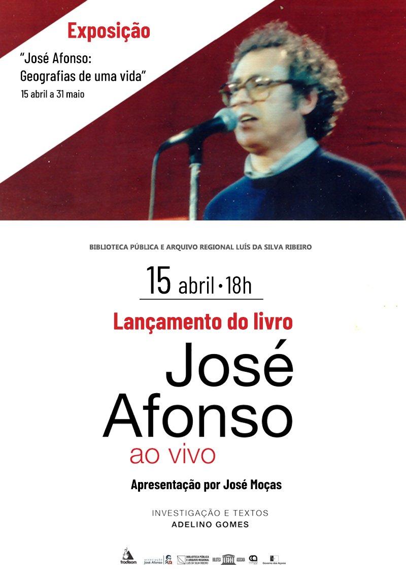 """Exposição """"José Afonso: geografias de uma vida"""""""