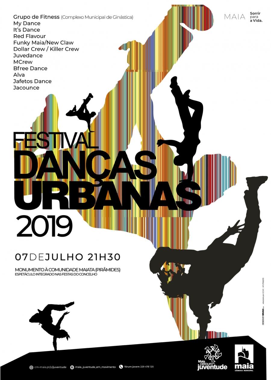 FESTIVAL DE DANÇAS URBANAS 2019