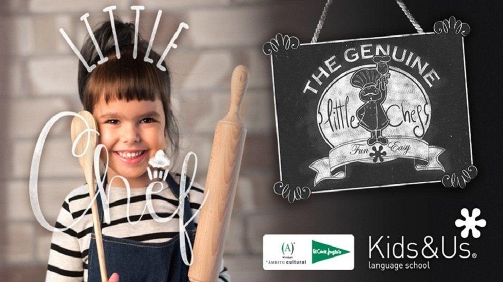'Little Chef for families', un taller de cocina en inglés para familias