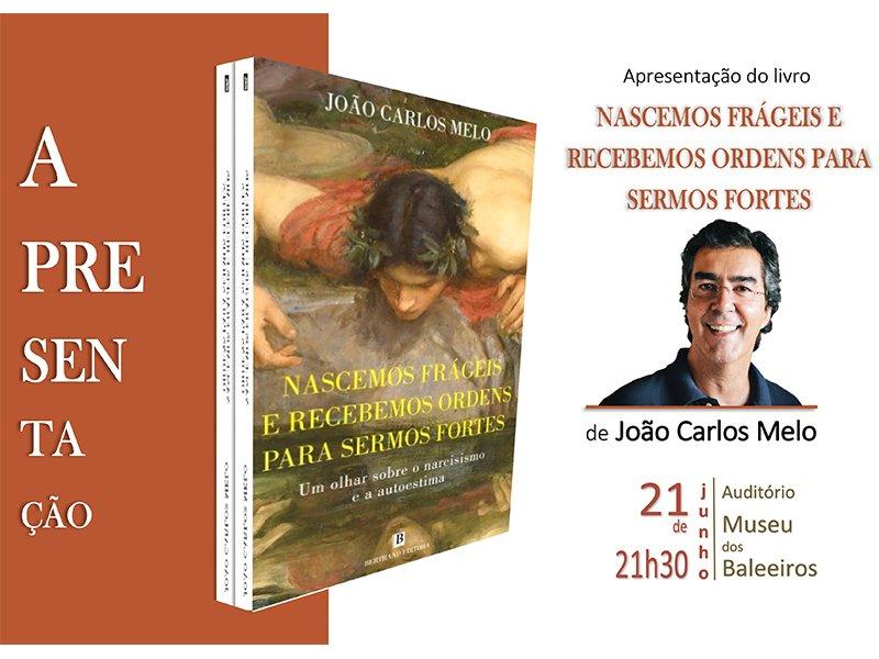 Apresentação do livro Nascemos Frágeis e Recebemos Ordens para Sermos Fortes, de João Carlos Melo, no Museu do Pico