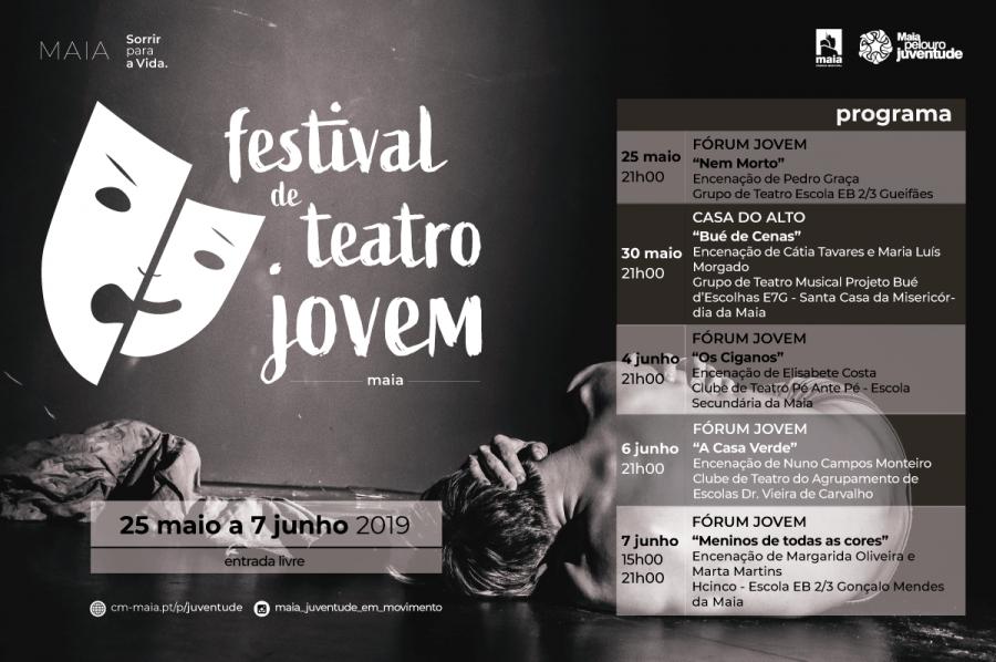 FESTIVAL DE TEATRO JOVEM MAIA 2019