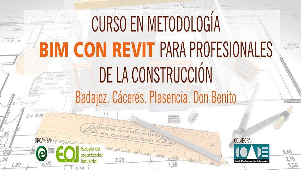 Curso en metodología BIM con REVIT para profesionales de la construcción