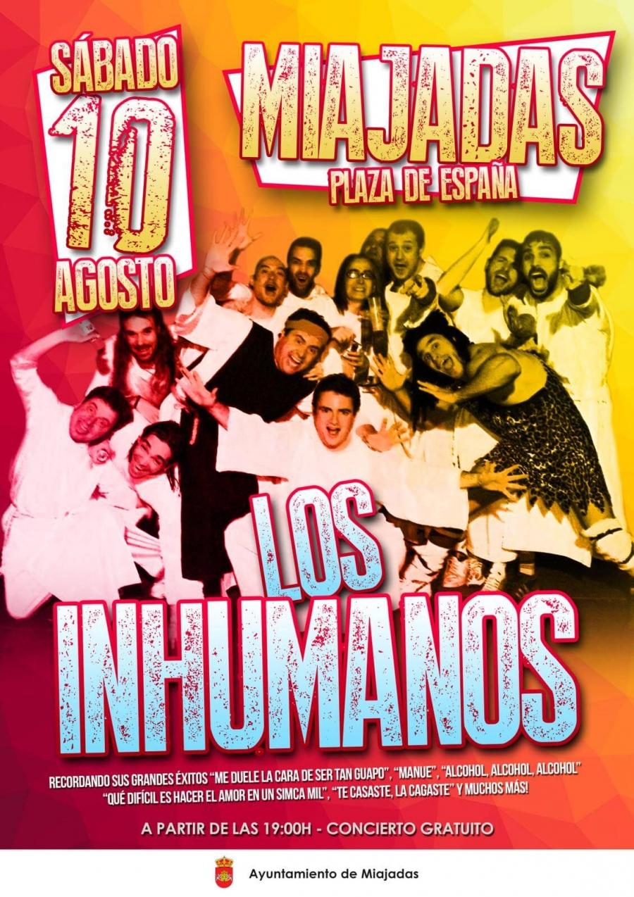 """El primer día de Feria Agosto 2019: """"Los Inhumanos"""""""