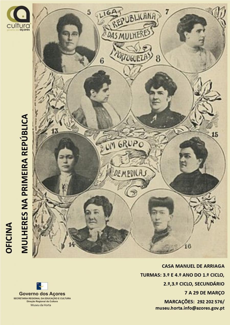 Oficina 'Mulheres da Primeira República'