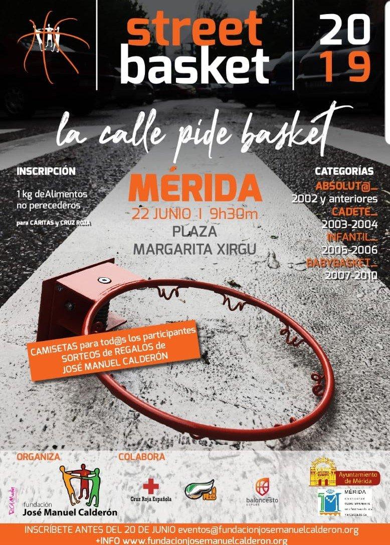 Street Basket 3×3 Fundación José Manuel Calderón
