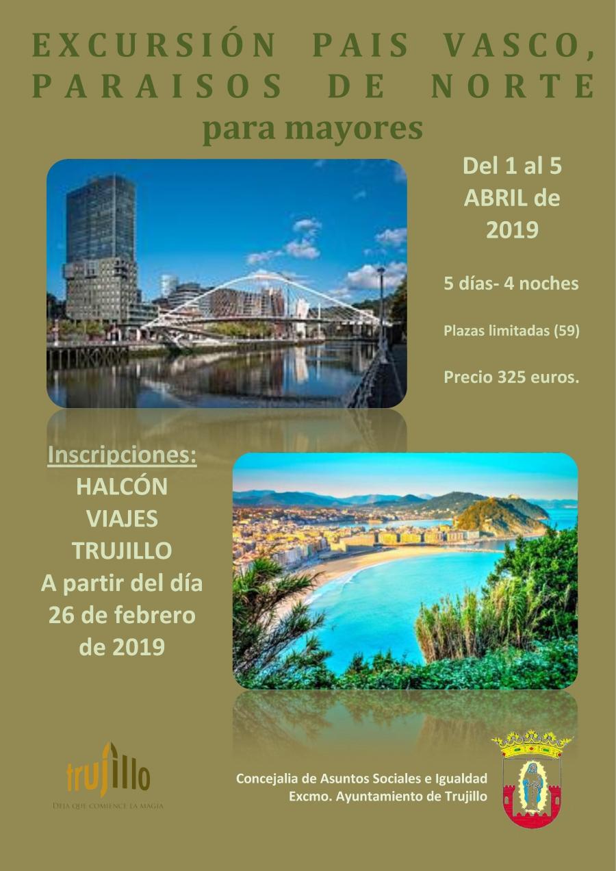 Excursión al País Vasco para mayores