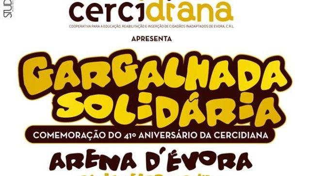 'Gargalhada Solidária' stand-up comedy