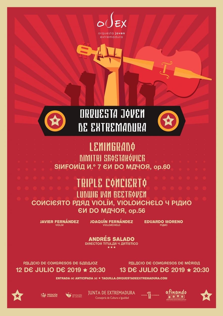 Concierto Orquesta Joven de Extremadura (OJEX)