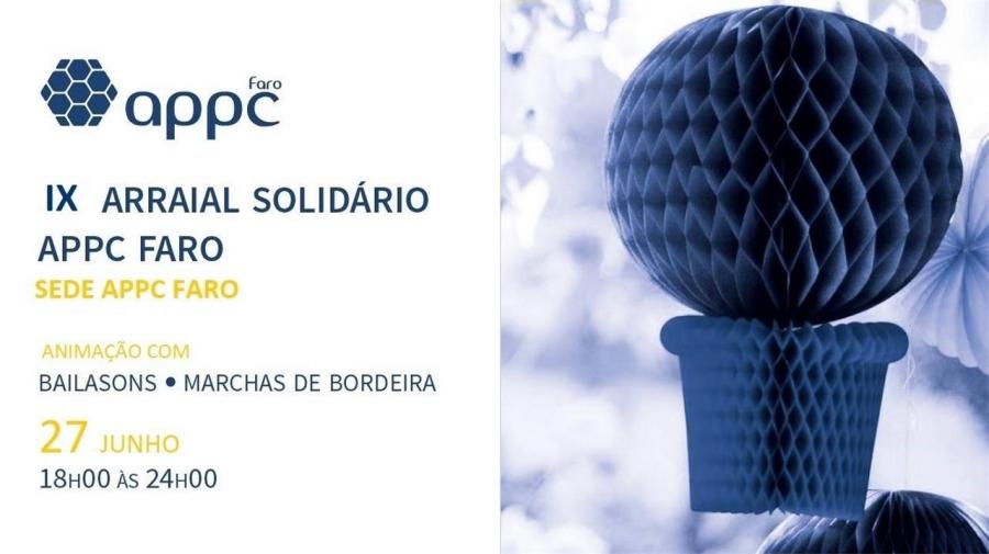 IX Arraial Solidário APPC Faro