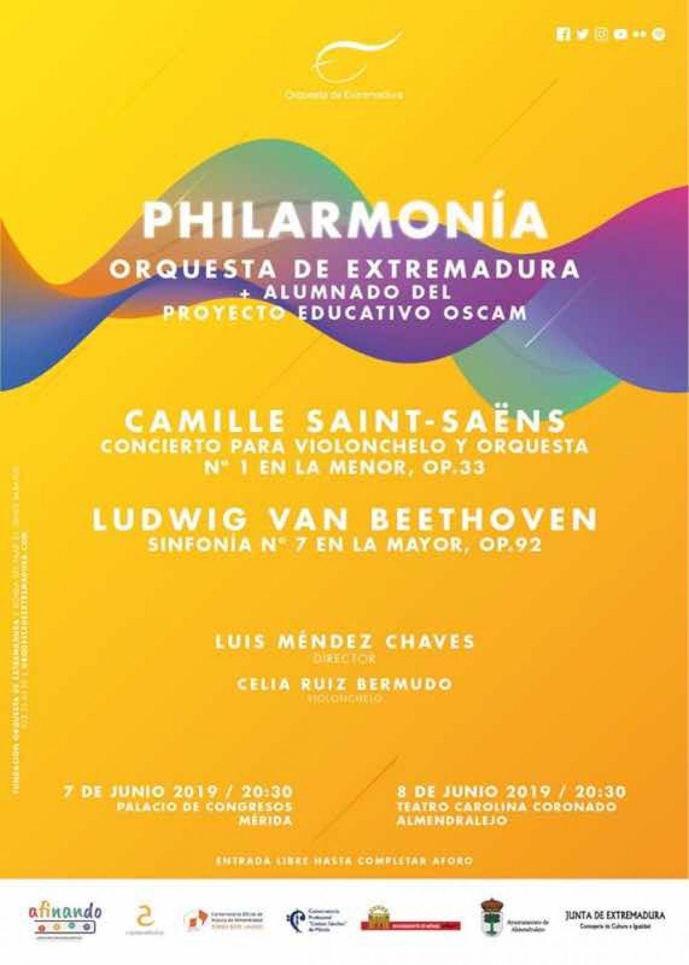 Philarmonía (Orquesta de Extremadura + alumnos OSCAM)