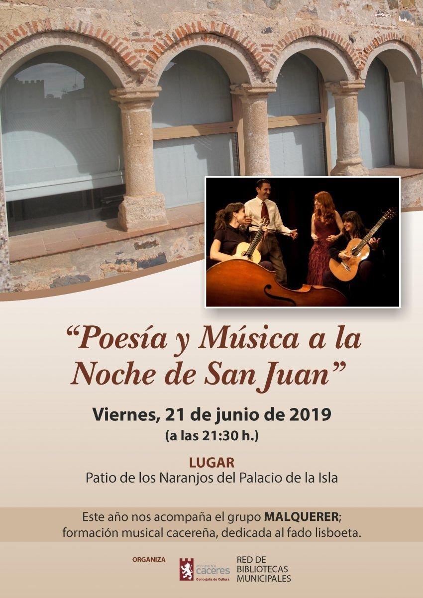 Poesía y Música a la Noche de San Juan