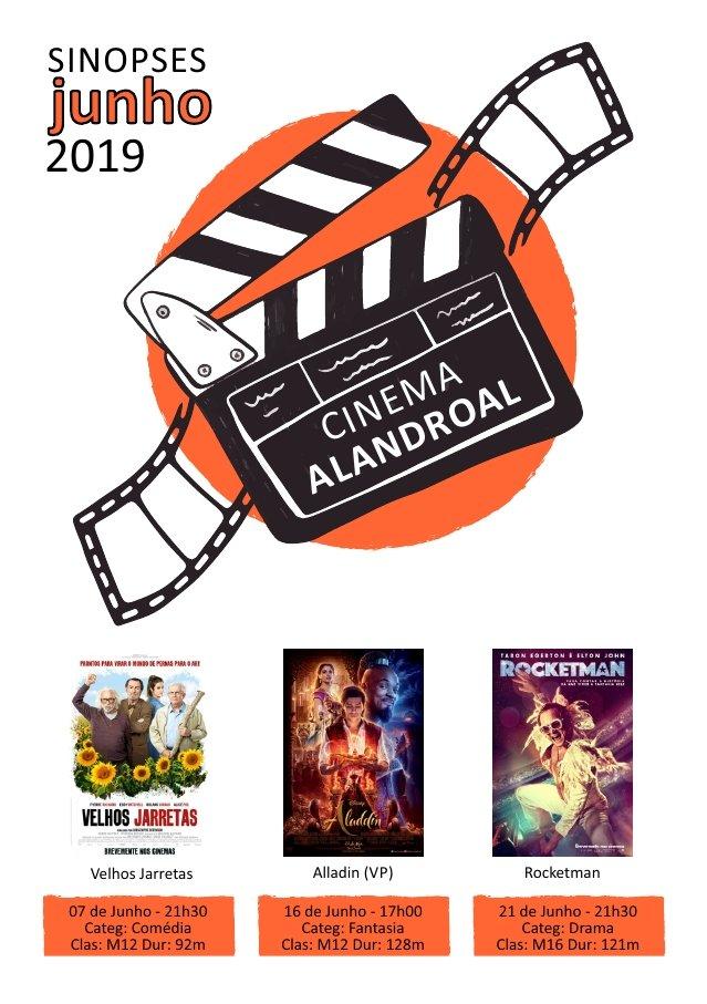 Cinema Alandroal - junho