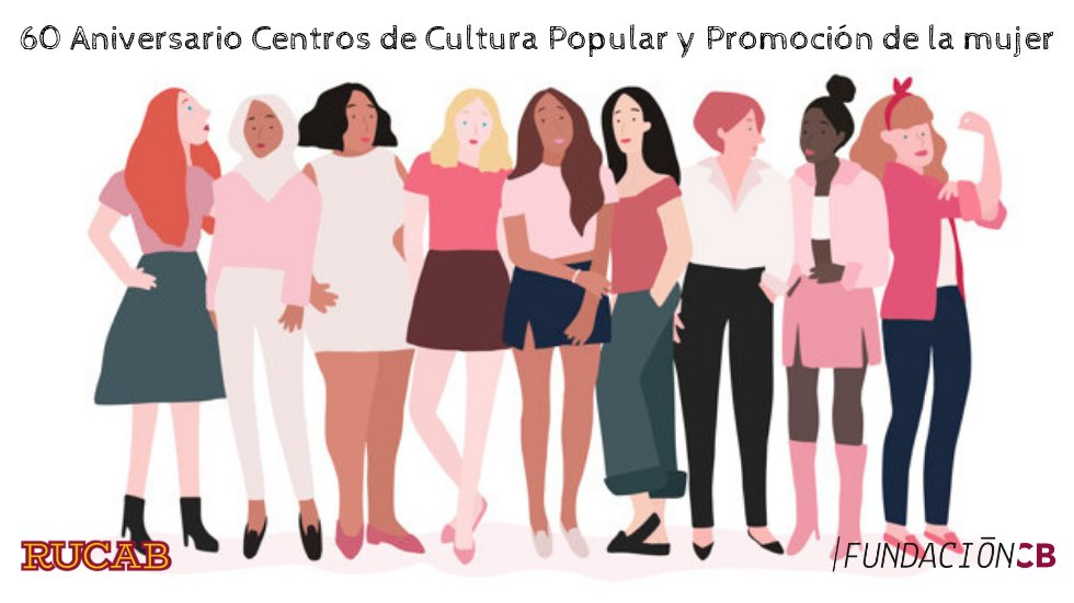 60 aniversario Centros de Cultura Popular y Promoción de la Mujer