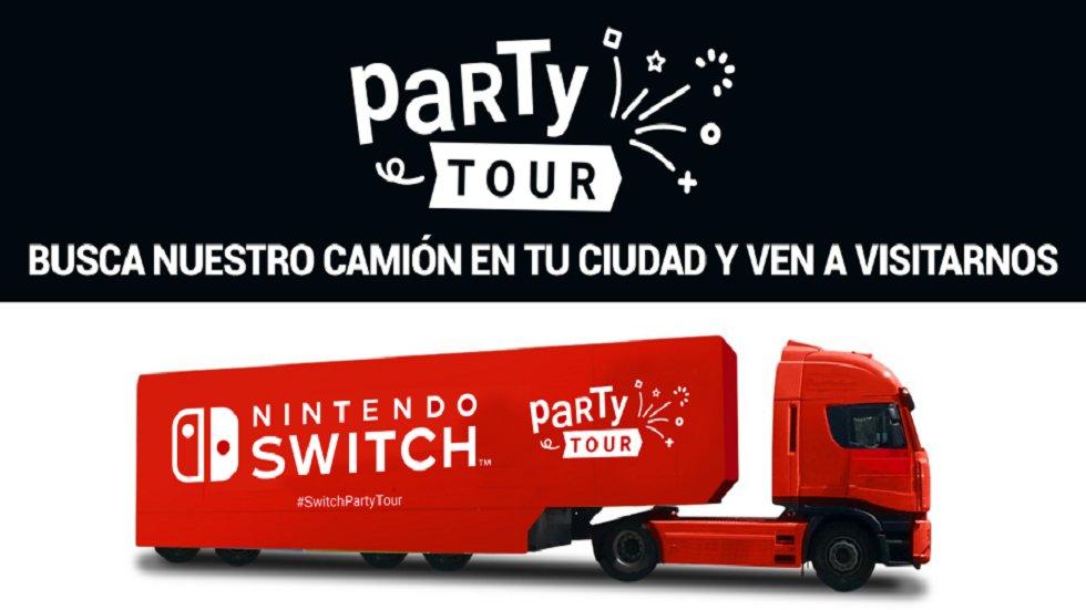 Party Tour Nintendo Switch