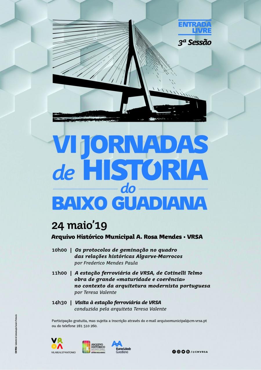 VI Jornadas de História do Baixo Guadiana