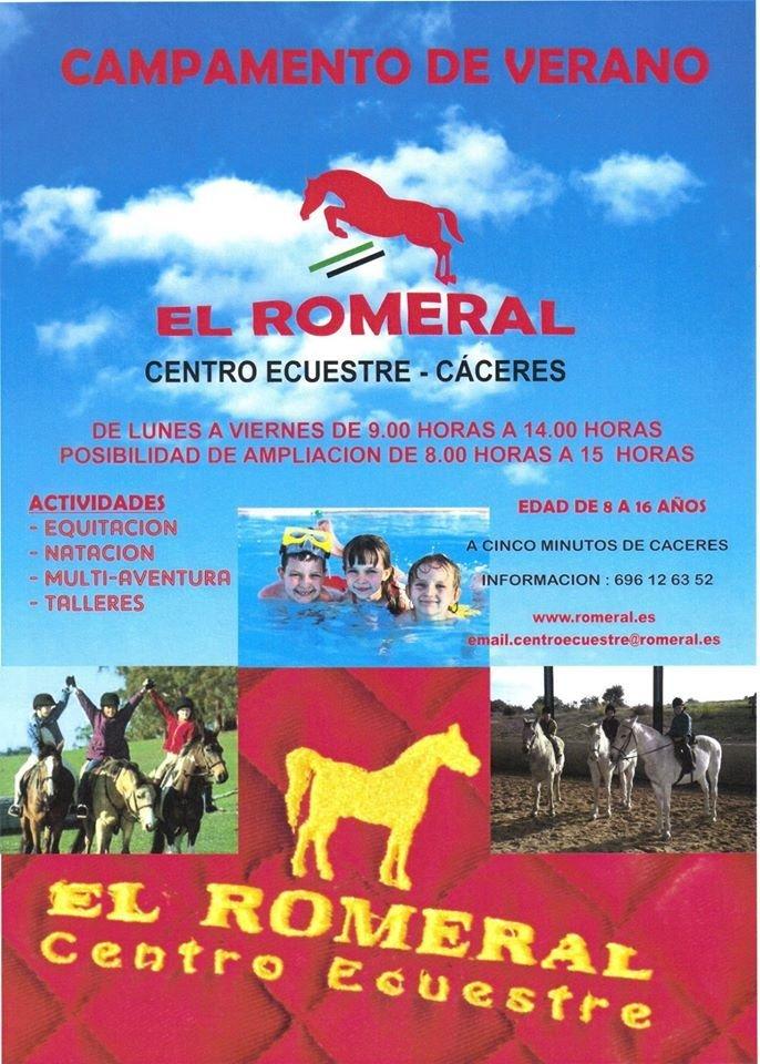 Campamento Urbano de Equitación el Romeral