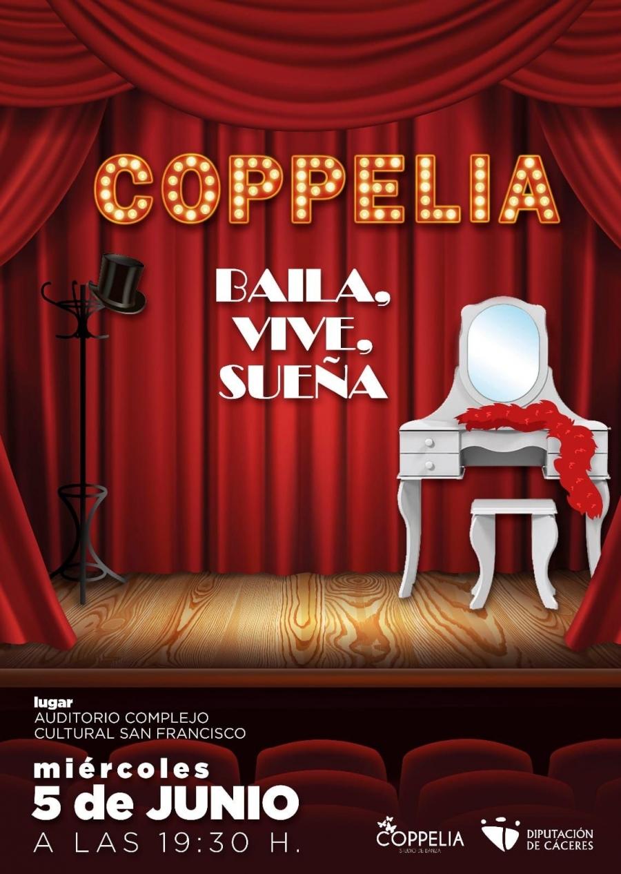 Espectáculo Academia de danza Coppelia Cáceres