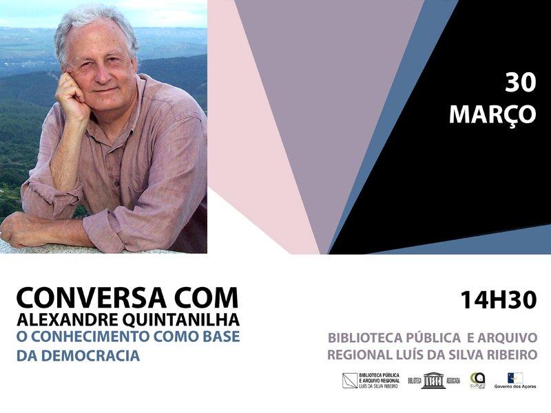 Conversa com Alexandre Quintanilha
