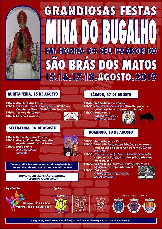 Grandiosas Festas em Mina do Bugalho