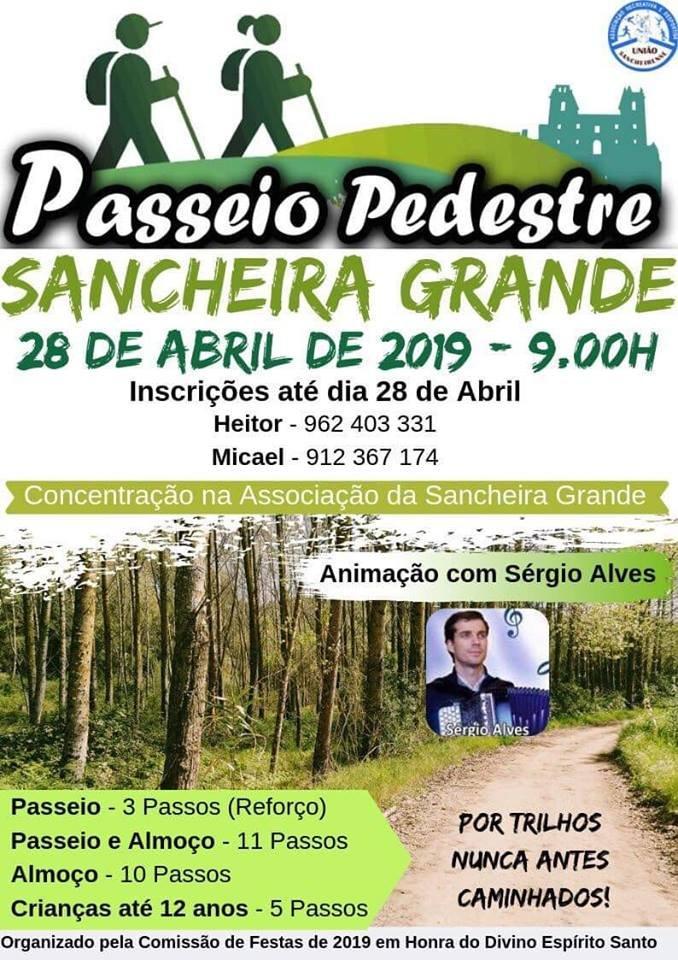 Passeio Pedestre Sancheira Grande