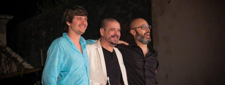 António Guerra e Silvério Pontes