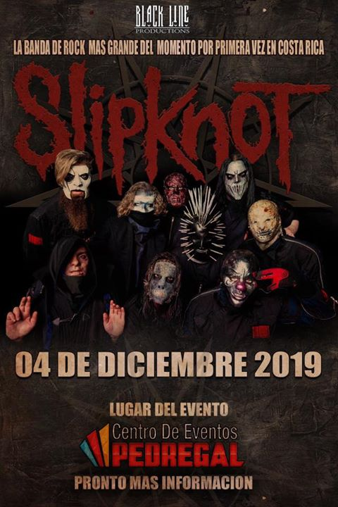Slipknot Knotfest Roadshow en Costa Rica 2019 (Evento Oficial)