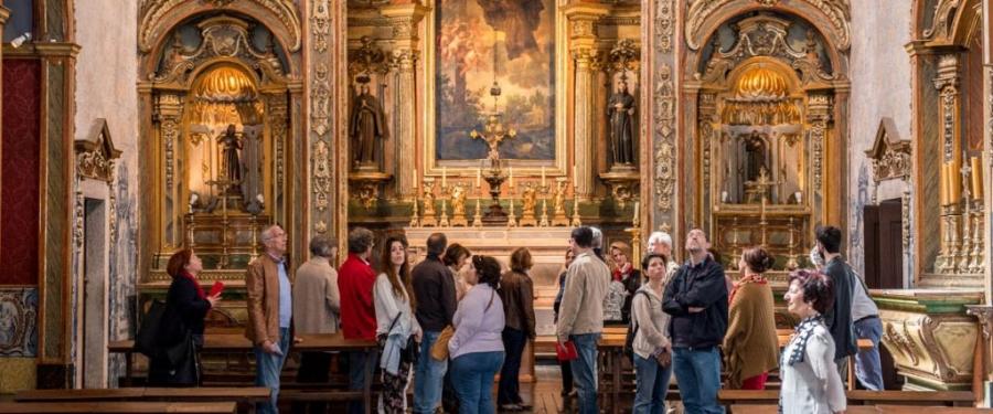 Visitas ao Convento de São Pedro de Alcântara