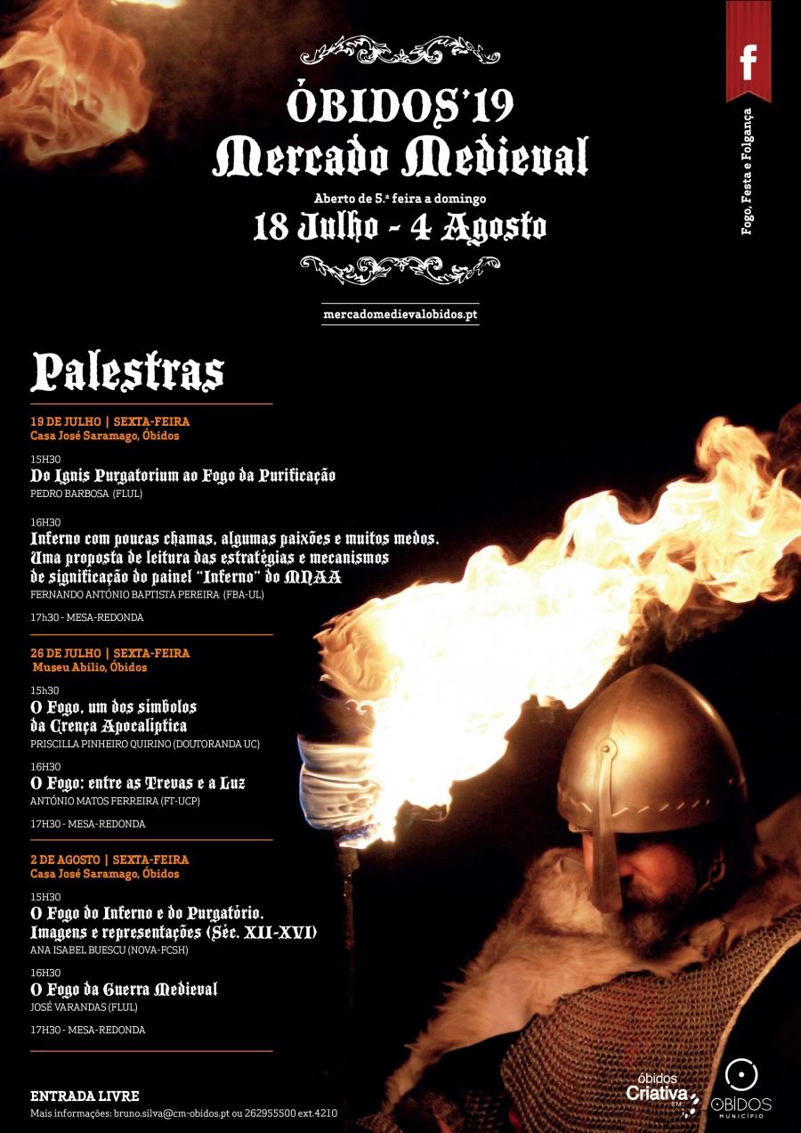 Palestras | Mercado Medieval 2019