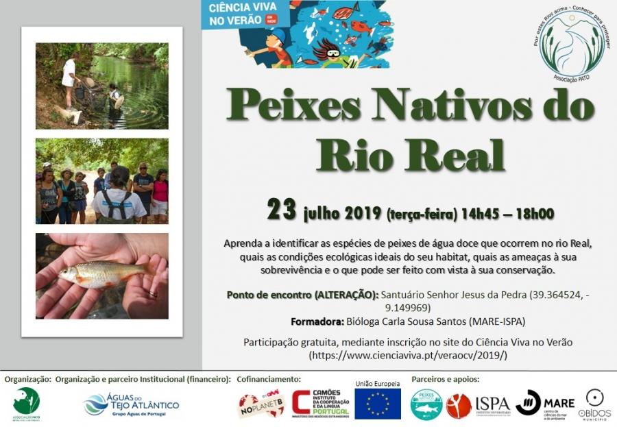 Peixes Nativos do Rio Real