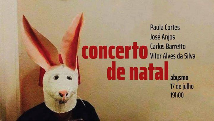 Concerto de José Anjos, Carlos Barretto e convidados