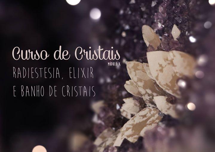 Radiestesia e Elixir Cristais | Workshop do Curso de Cristais
