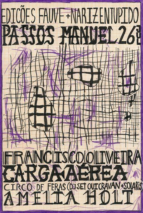 Carga Aérea/Francisco Oliveira/Amelia Holt at Passos Manuel