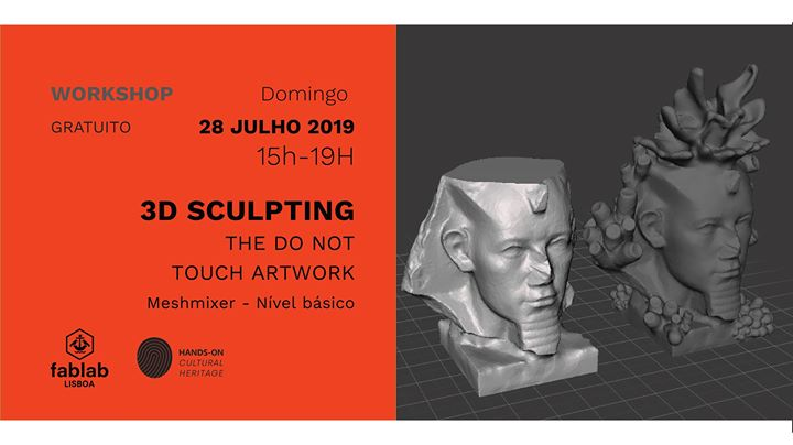 Workshop - Hands on Cultural Heritage 3D Sculpting
