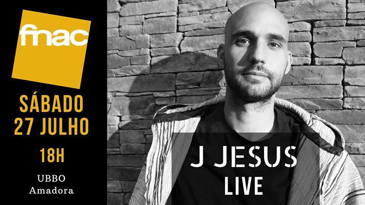 J Jesus na Fnac UBBO, Amadora