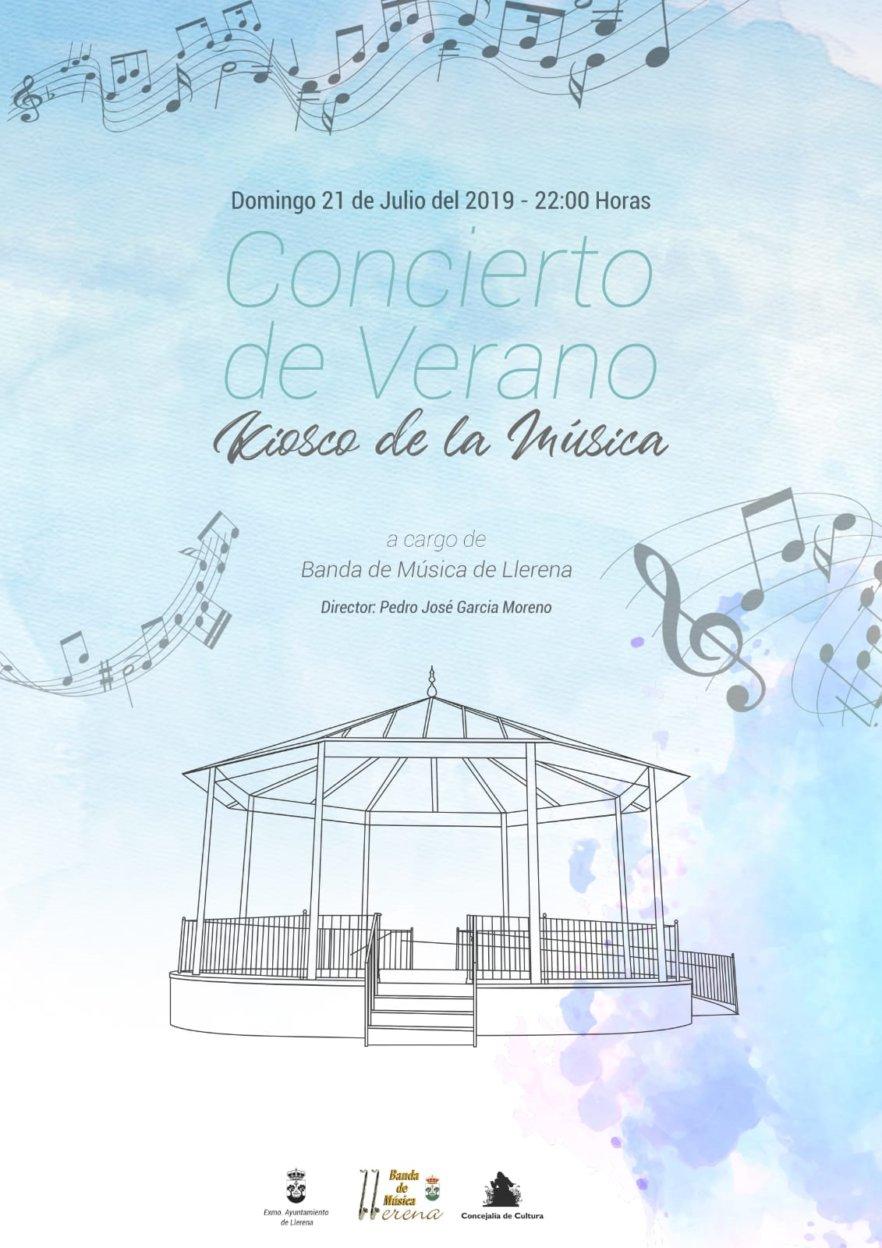 Concierto de Verano de la Banda de Música de Llerena